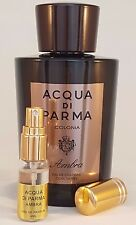 ACQUA DI PARMA  * AMBRA / AMBER 4ml * SOPHISTICATED & CONFIDENT !!!