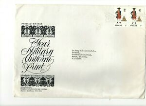 1970 GIBRALTAR - YOUR MILITARY UNIFORM LARGE FDC FROM COLLECTION 5B/13