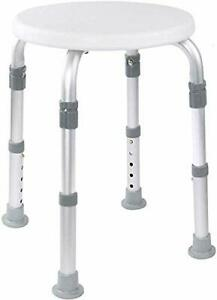 Medical Tool-Free Assembly Adjustable Shower Stool Tub Chair and Bathtub Seat...