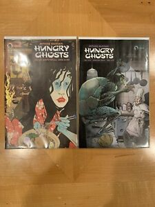 ** HUNGRY GHOSTS #1-4 ** ANTHONY BOURDAIN ** VF/NM ** BERGER BOOKS **