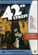 42nd St / Street - Dick Powell Ruby Keeler (NEW) Classic Broadway Musical DVD