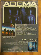 Adema, Planets, Full Page Promotional Ad