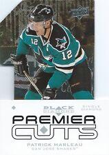 (HCW) 2008-09 Black Diamond Premier Die-Cut PATRICK MARLEAU Upper Deck UD 00635