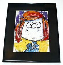 Tom Everhart Peanuts Peppermint Patty Lg Framed Print Charles Schulz