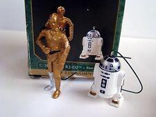 Hallmark Keepsake Ornaments - Star Wars Miniatures - C-3PO & R2-D2 - dated1997