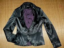 Festliche Damenjacken & -mäntel aus Baumwolle ohne Muster mit Knöpfen