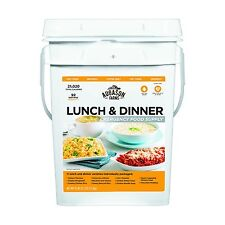 Emergency Wise Survival 30 Day Dried Food Supply Pail SOS Kit Lunch Dinner Meals