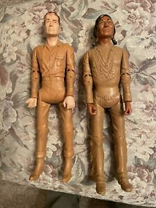 Chief Cherokee and Johnny West Action Figures Vintage