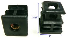 "Oajen caster socket furniture insert for 5/16"" - 18 thread, use with 1"" OD"