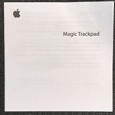 Apple Magic Trackpad Wireless Multi-Touch Gesture Input Device Quickstart Guide
