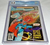 DC Comics Presents #22 CGC Universal Grade Whitman Variant Superman Vs Comet 💎