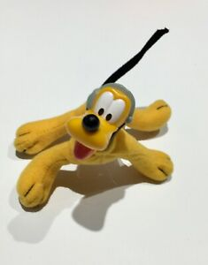 2001 House of Mouse McDonalds Happy Meal Toy Poseable Pluto #4 dog 🐕