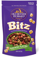 Old Mother Hubbard Bitz Natural Crunchy Dog Training Treats, Chicken, Liver &