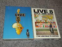LIVE 8 RARE 4 DVD Box Set 2005 Concert PINK FLOYD Paul McCartney MUSE Madonna U2
