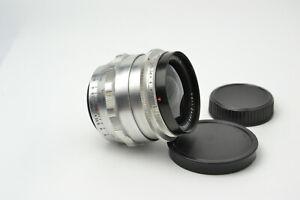 Carl Zeiss Jena Flektogon 2.8/35 M42 lens Silver S/N 5890516