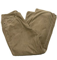 ANA Womens Pants sz 16P Brown Stretch Casual Corduroy Bootcut Petite RB66