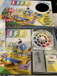 The Game Of Life Board Game Hasbro Complete Spin To Win