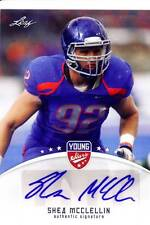 shea mcclellin rc rookie draft auto autograph boise state broncos college 2012