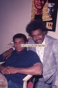 Original Muhammed Ali w/ Don king 1970's Slide/Transparency Boxing Scarce