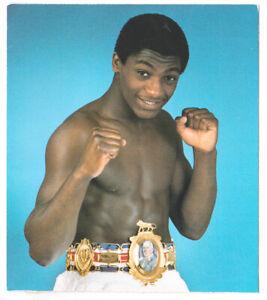 Vintage Boxing Photo Print Herol 'bomber' Graham with Belt.