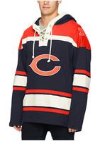 Chicago Bears Sweatshirt/Pullover Hoodie Men's Medium 100% Cotton (OTS) NFL
