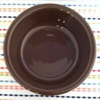 Fiestaware Chocolate Companion Bowl Fiesta Retired 30 ounce Brown Serving Bowl