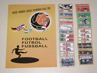 WORLD CUP 1958 RARE SWEDEN 58 Empty Album + set of 384 stickers 100% Complete
