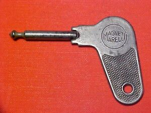 Ferrari 212 Ignition Switch Key_Pin Key_Magneti Marelli 1953-54 OEM