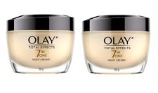 Olay Total Effects 7 in One Night Cream, 50g (1.7 Oz) (Pack of 2)