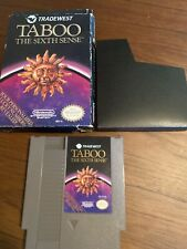 Taboo The Sixth Sense (Nes) With Box