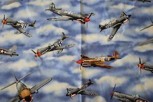 Fabric -Timeless treasures fabric jet planes
