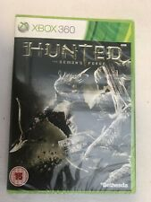 X BOX 360 - HUNTED THE DEMONS FORGE - NEW & SEALED - UK VERSION