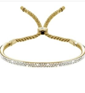 Diamondstyle Java Lux Gold Plated Bracelet In Leather Pouch Brand New RRP £129