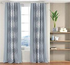 New 2 Piece Long Door Curtain Set - 9 x 4 feet