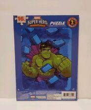 2 - Marvel Super Heroes 16 piece Children's Board Puzzles New