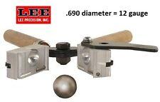 Lee 1-Cavity Bullet Mold (690 Diameter) 12 gauge - Round Ball  # 90978  New!