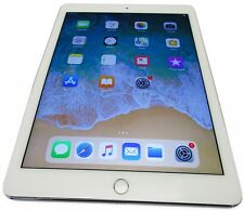Unlocked Apple iPad Air 2 64GB White/Silver WiFi GSM 2nd iOS 11.2.1 Bent Bezel