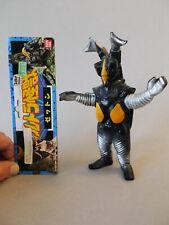Vintage Bandai Ultraman Kaiju Z-Ton w/ tag 1987 Japan Hard Vinyl Bullmark Marmit