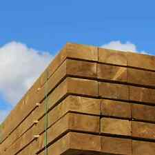 1200x200x100 Pallet of 25 Green Treated Softwood Railway Sleepers Free Delivery