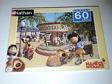 Le manège enchanté  Puzzle 60 pieces  COMPLET Nathan