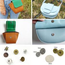 5pcs Women Purse Magnetic Clasp Press Stud 14mm 18mm Crossbody Bag Round Snaps