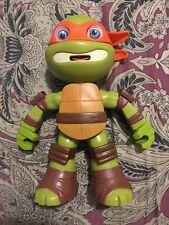 "Teenage Mutant Ninja Turtles Michelangelo Viacom 2015 9.5"" Talking Action Figure"