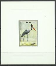 Senegal Oiseaux Jabiru Storks Birds Sattelstorch Vogel Epreuve Die Proof ** 1996