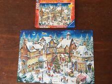 Ravensburger 1000 pc Jigsaw Puzzle Santa's Christmas Wonderland - 100% COMPLETE