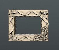 3d STL models for CNC, Artcam, Aspire, decor photo frame mirror