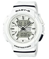 Casio Baby-G * BGA240-7A Runner Anadigi White Watch COD PayPal