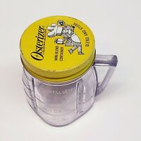 Vintage Osterizer Mini Blend & Store Plastic Jar With Lid 8 Oz OSTER Container