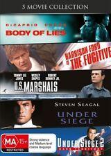 The Fugitive / U.S. Marshals / Under Siege / Under Seige 2 / Body Of Lies DVD