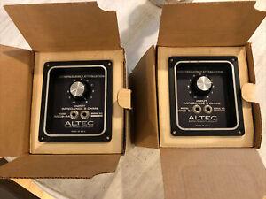 Altec N809-8A Dividing Network Crossovers Pair NOS Close Serials VOTT A7 800hz