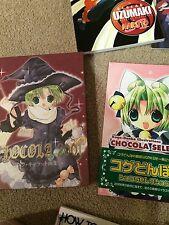 OOP RARE DiGiCharat Artbook Set Brand New Hard Cover 2 DiGiCo Gamers Anime Neko